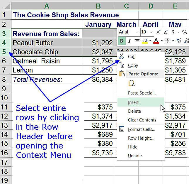 Add and delete rows and columns in excel add rows to an excel worksheet ibookread Download