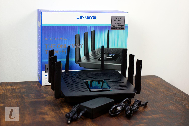Linksys EA9500 Max-Stream AC5400 MU-MIMO Gigabit WiFi