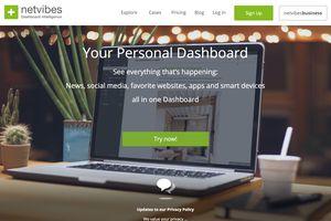 Netvibes website