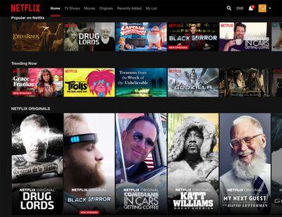 Netflix browsing