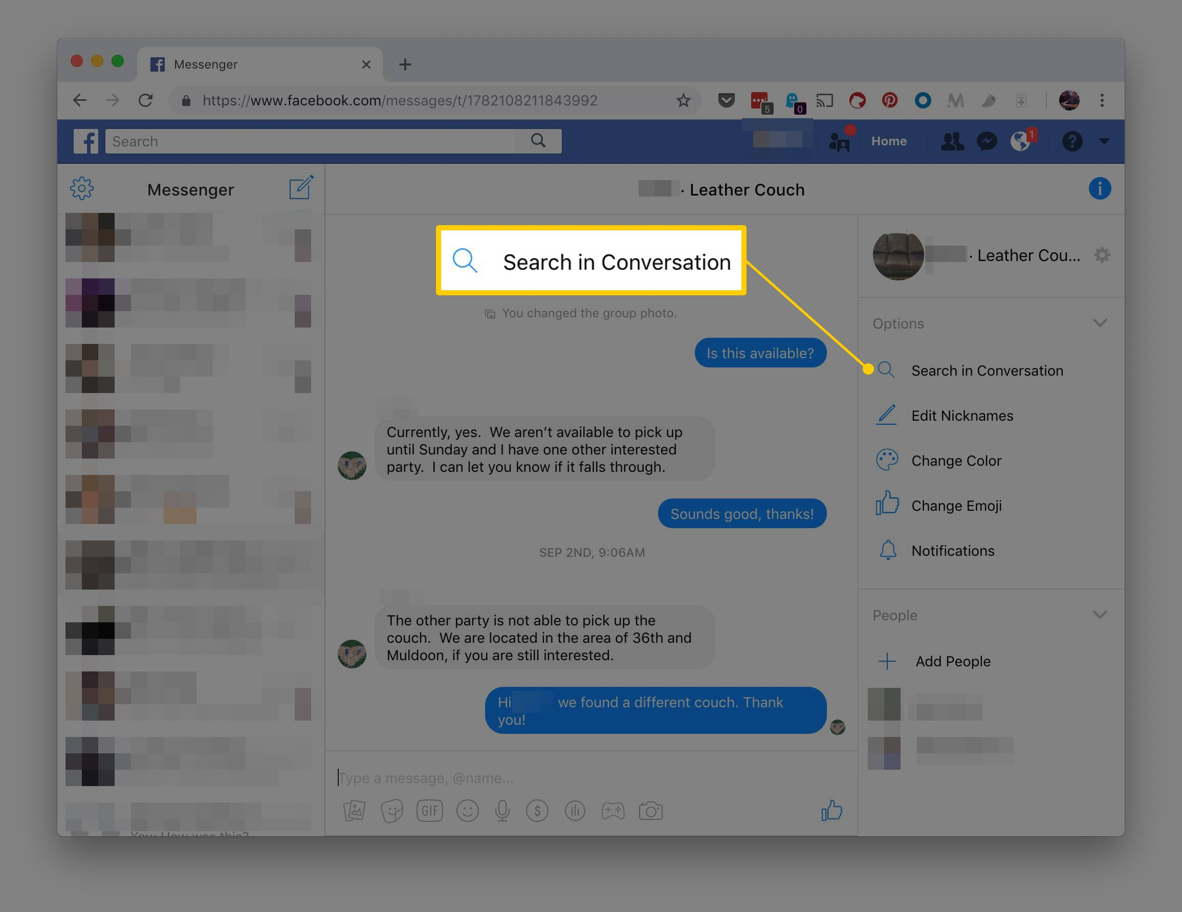 What Does It Mean To Archive An Email >> How To View Archived Facebook And Messenger Messages