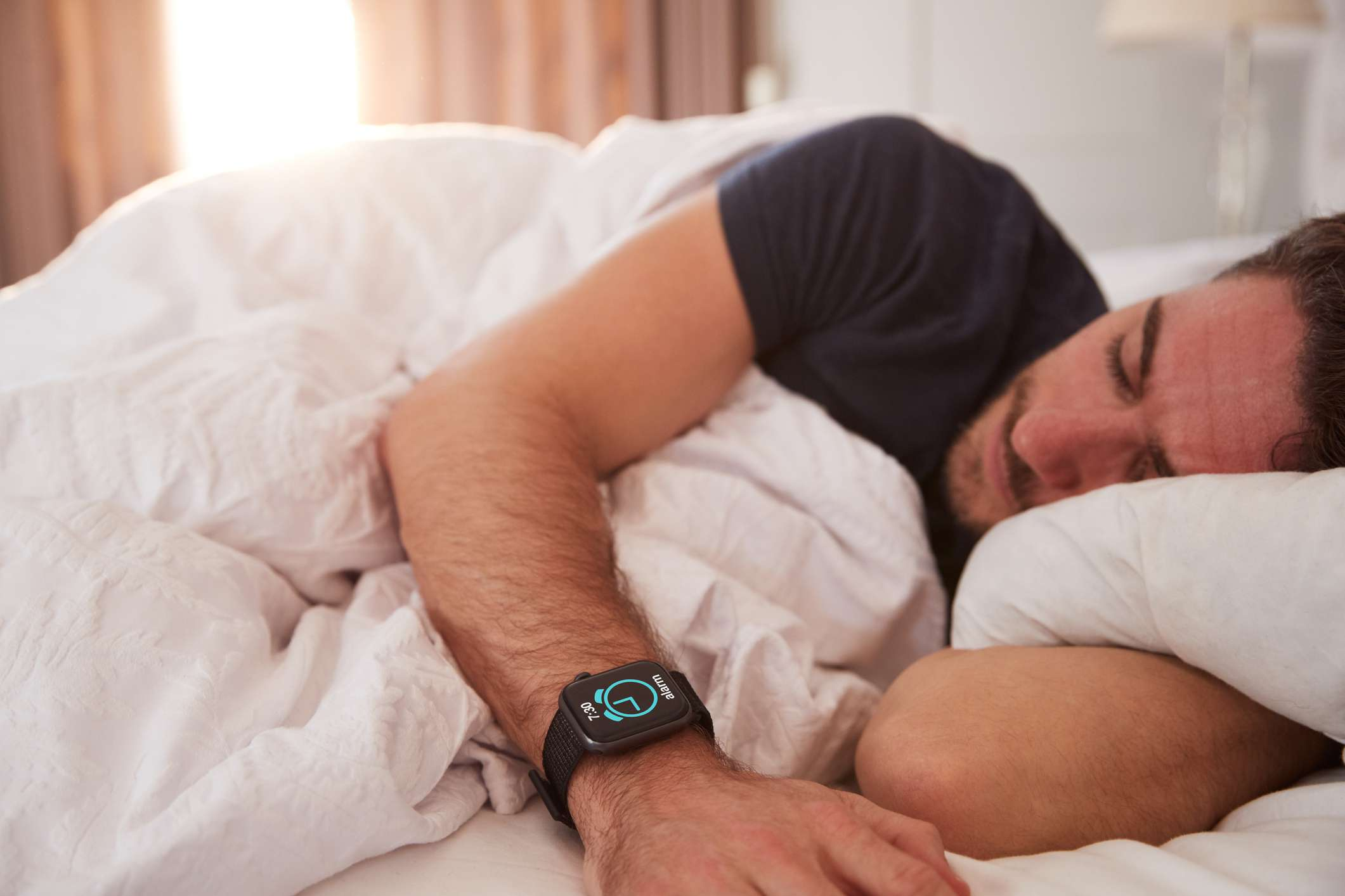 Sleeping with smartwatch
