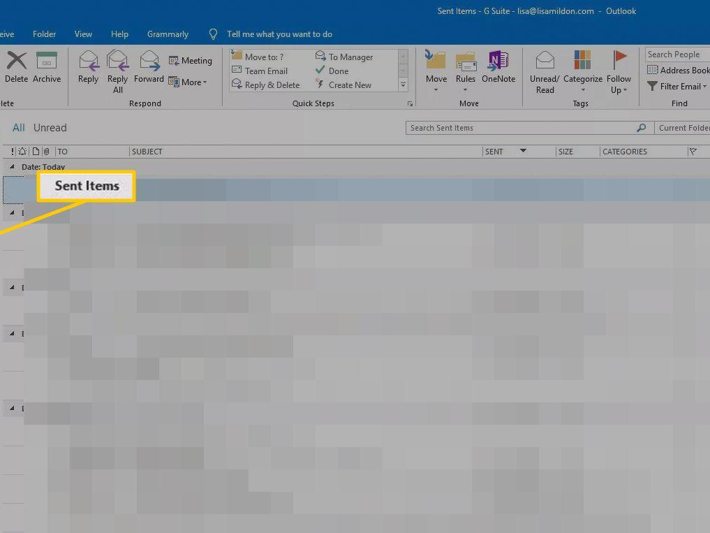Retract emails