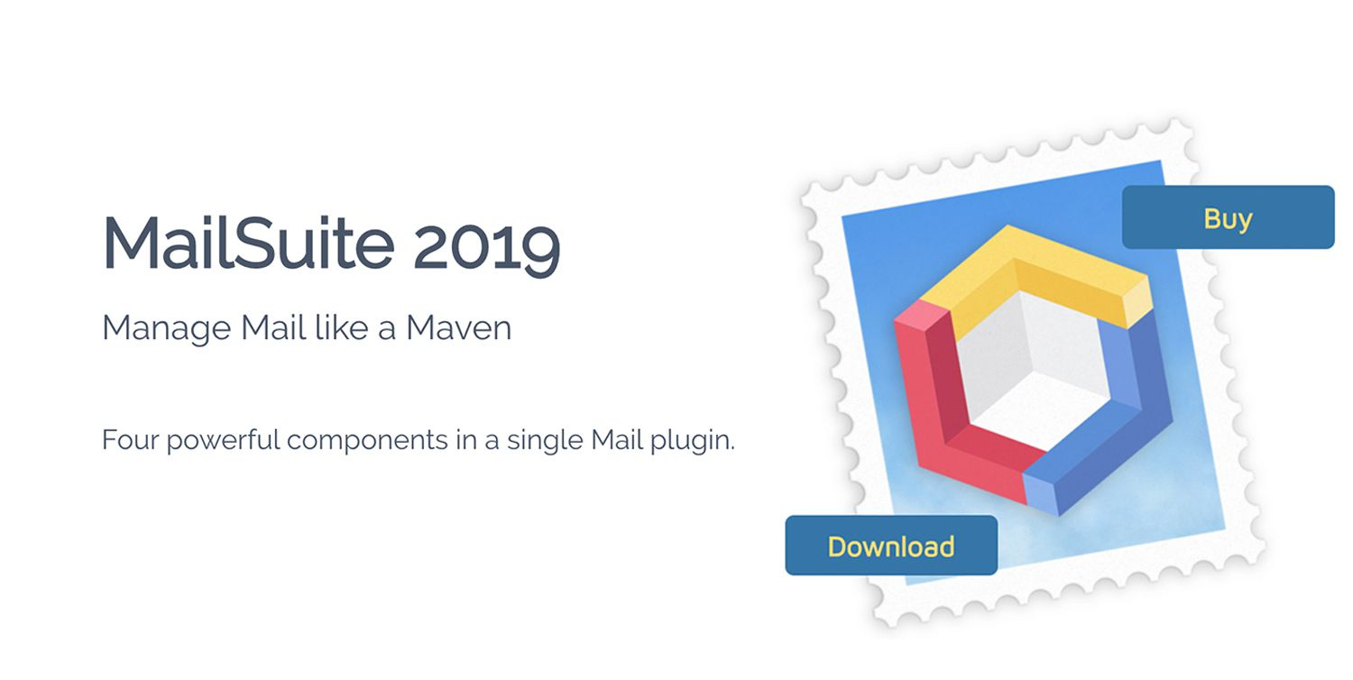 MailSuite 2019 for macOS Mail