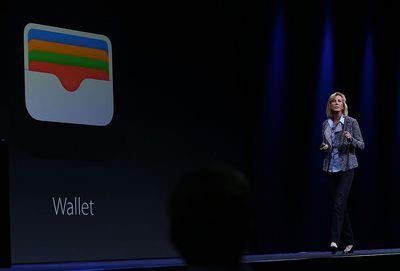 apple wallet slide during event