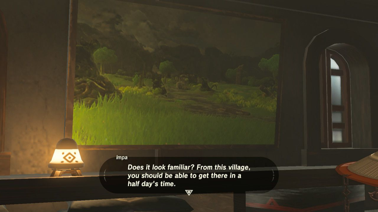 Looking at battlefield depiction in The Legend of Zelda: Breath of the Wild.