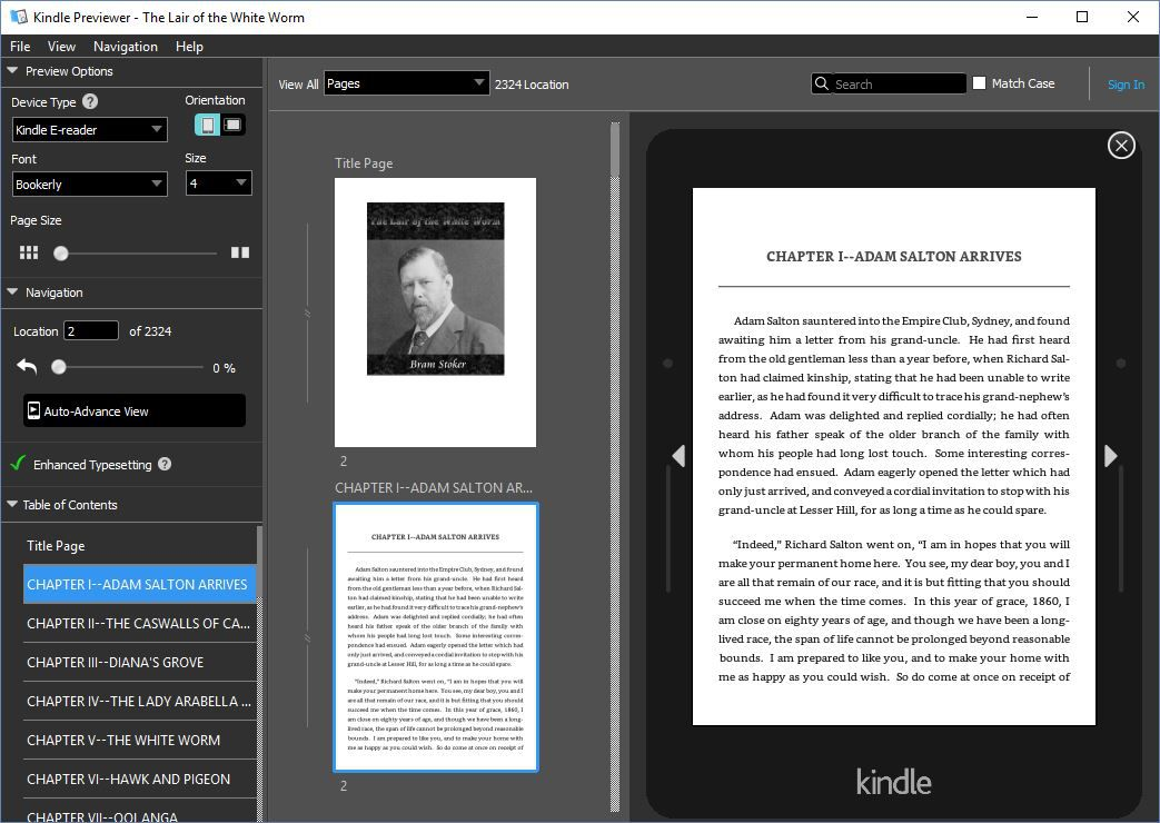How to Convert ePub to Mobi