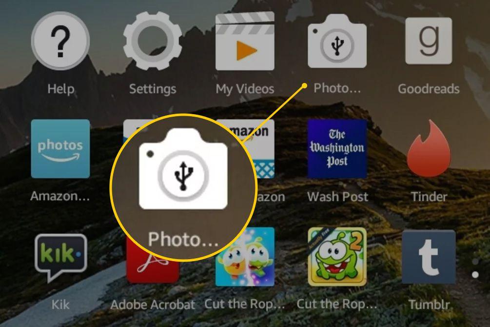 minecraft how to take screenshots kindle fire
