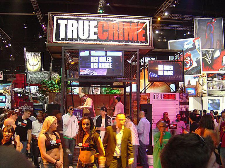 E3 2005 True Crime booth