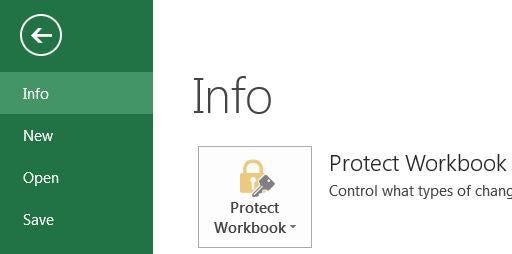 Encrypt Office 2013 Documents