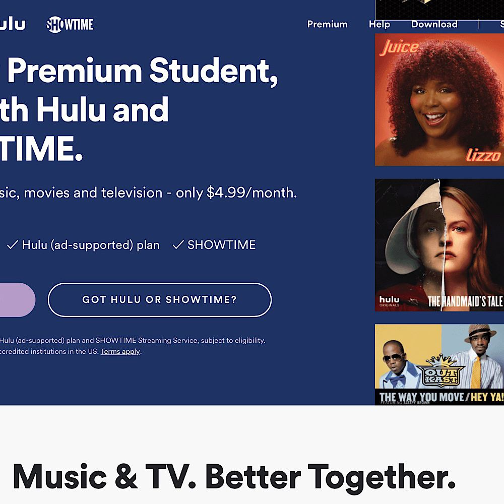 How to Connect Spotify to Hulu