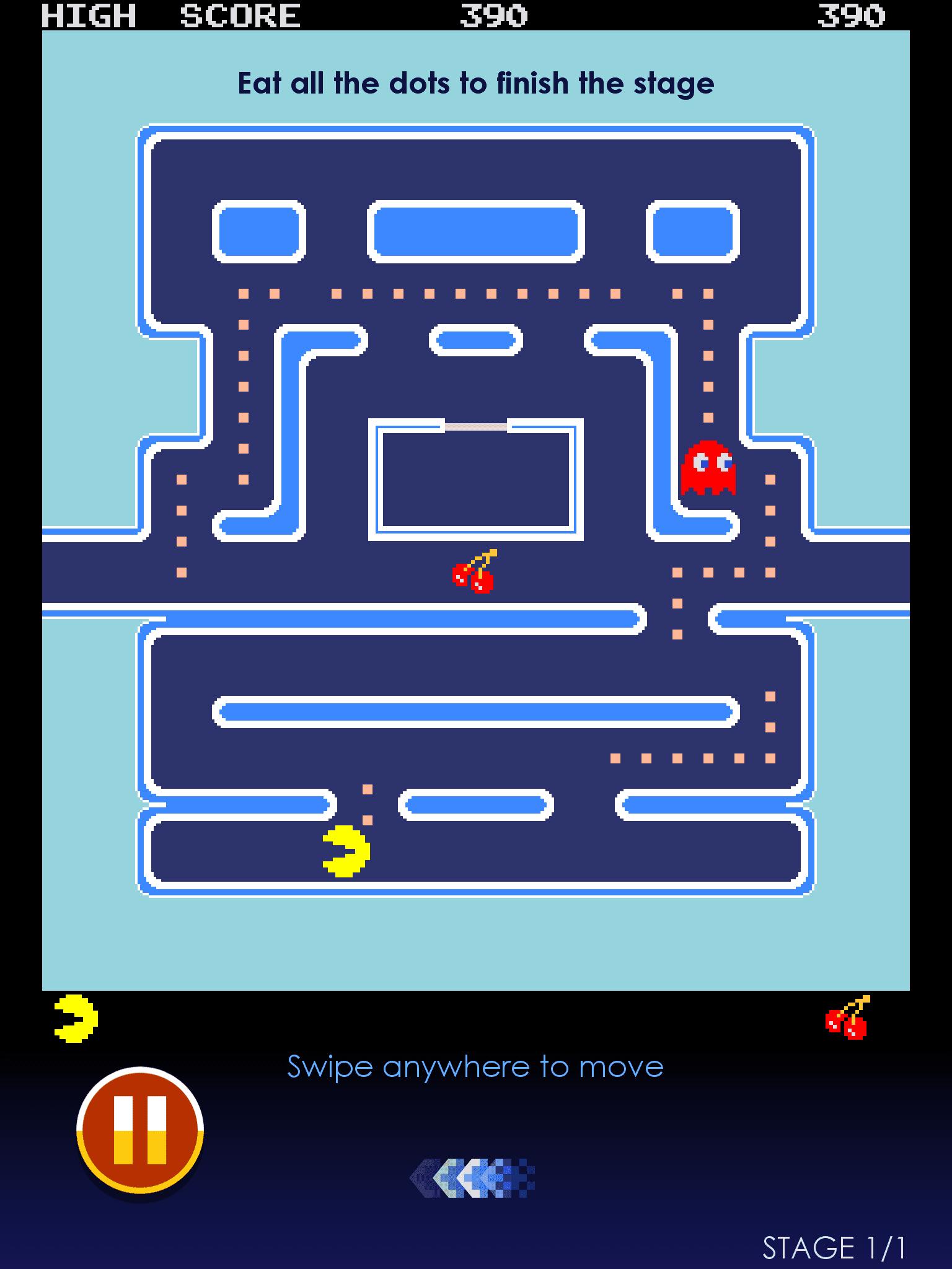 Screenshot of PAC-MAN