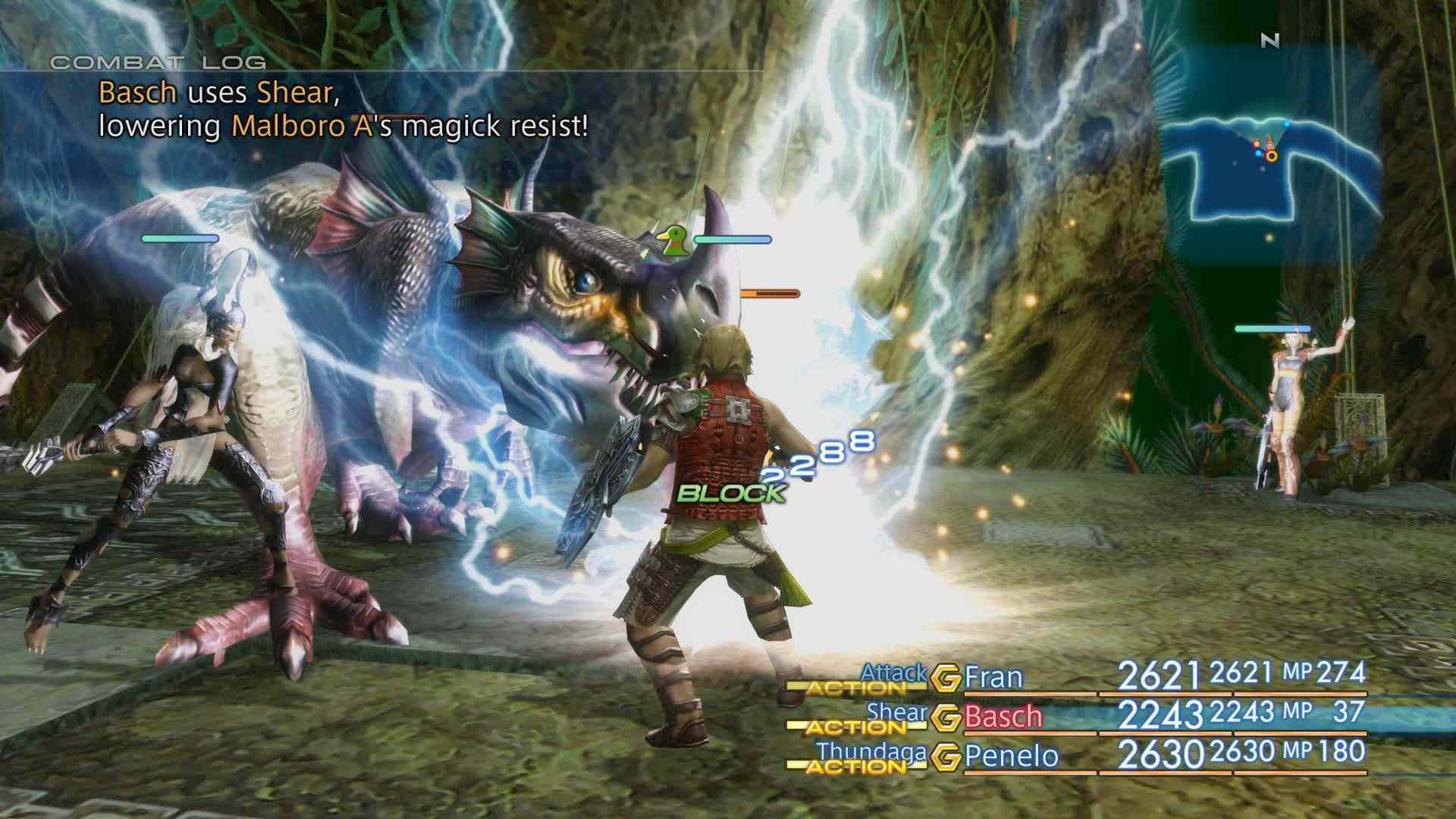 Screenshot of Final Fantasy XII