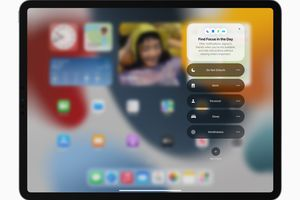 Focus Mode on iPad and iPadOS 15