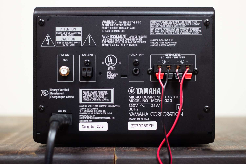 Yamaha MCR-B020BL Micro Component System