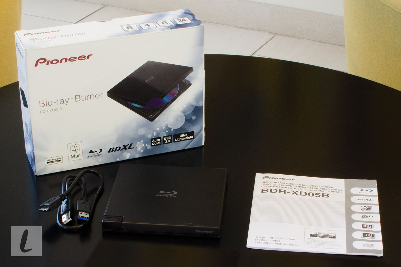 Pioneer BDR-XD05B Blu-ray Burner