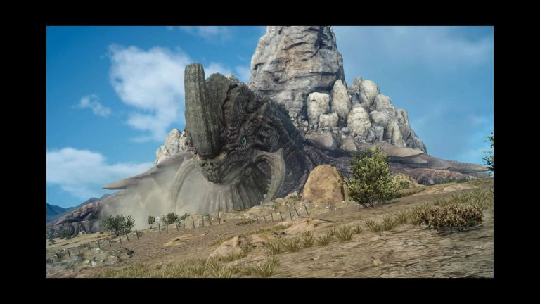 The Adamantoise super boss looms large in Final Fantasy XV for PS4.