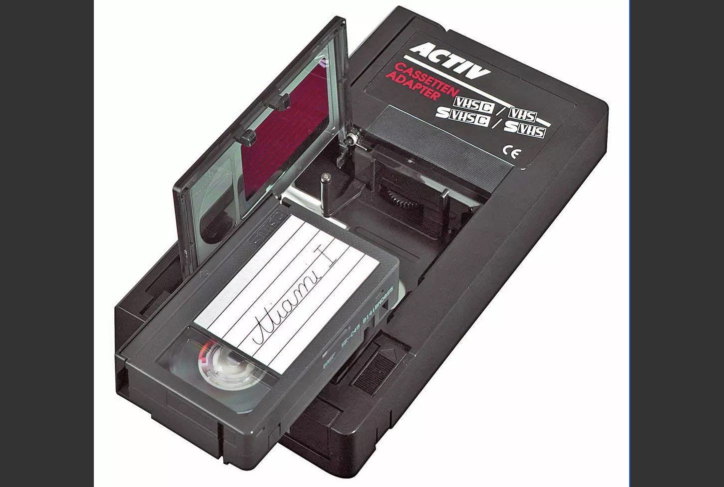 Is There A Vhs Adapter For 8mm Tapes