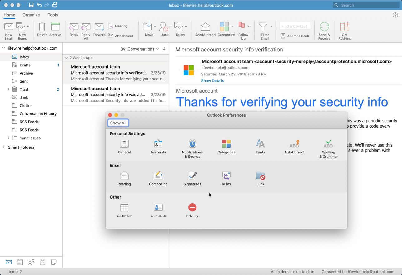How to Insert an Image Into Your Outlook for Mac Signature