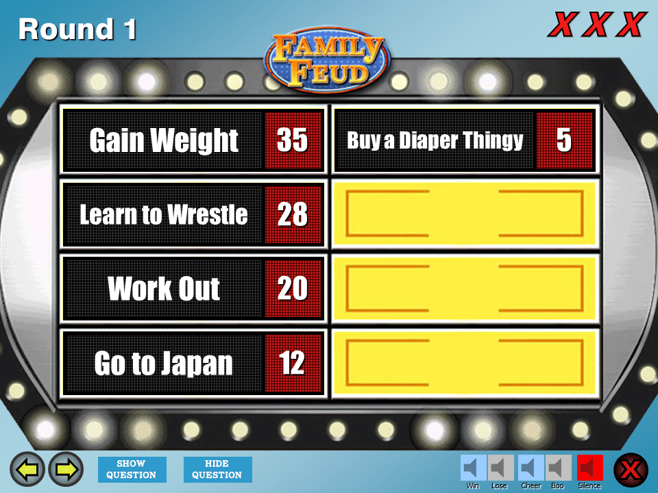 4 Best Free Family Feud Powerpoint Templates
