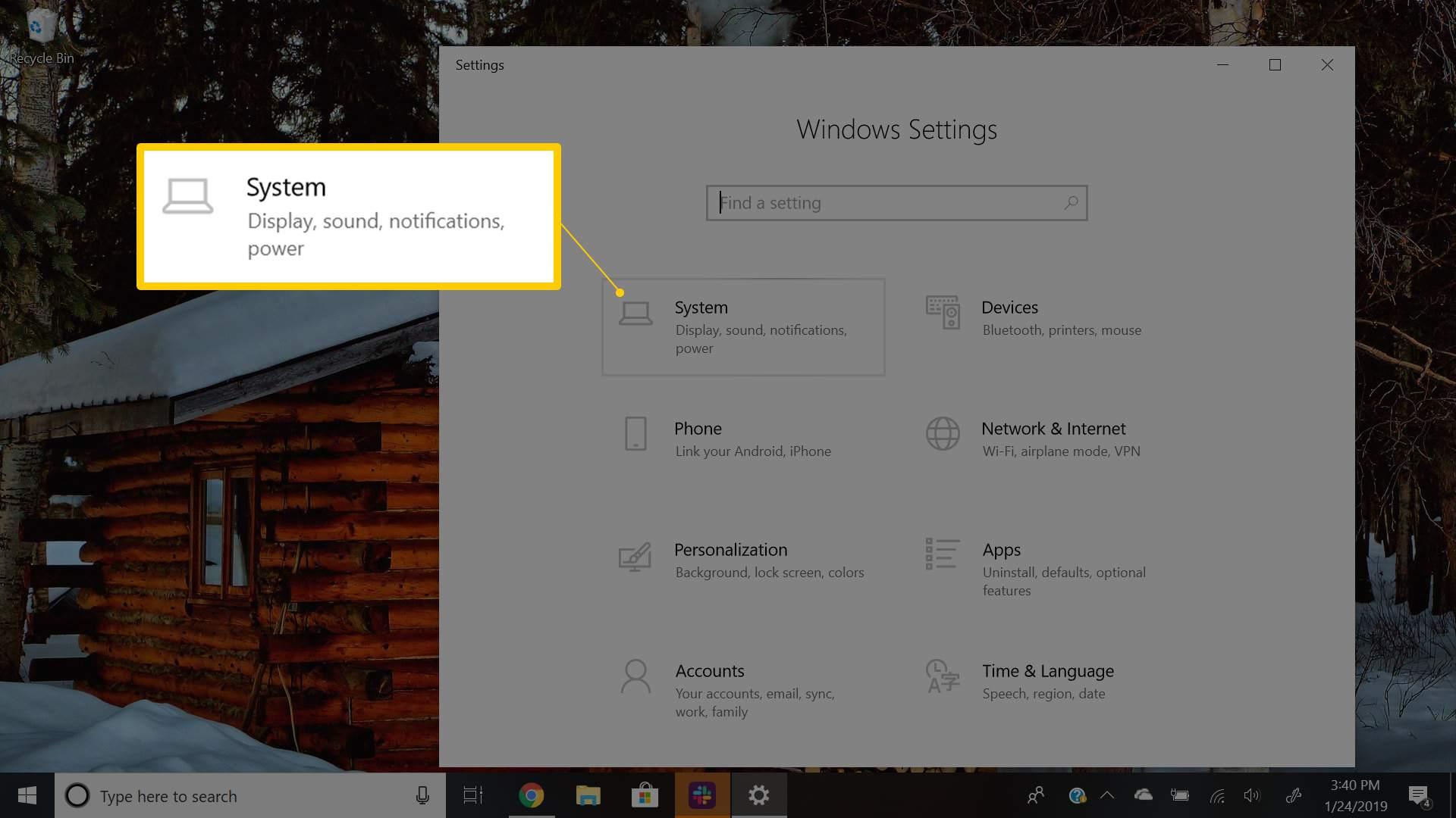 Configure Outlook Email Notifications in Windows 10