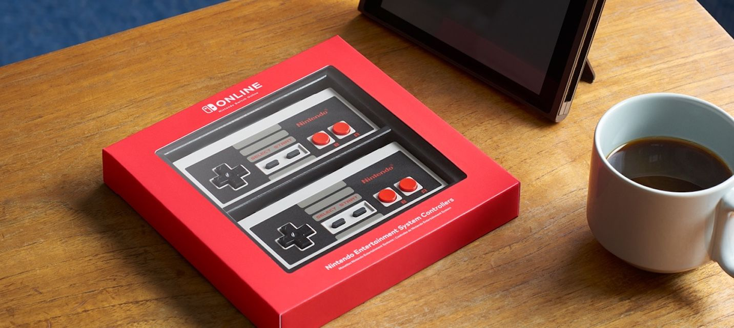 Classic wireless NES controllers.