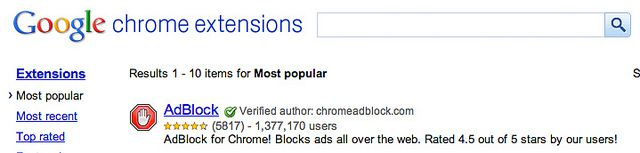 AdBlock - Chrome