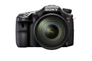 Sony a77 DSLR Camera