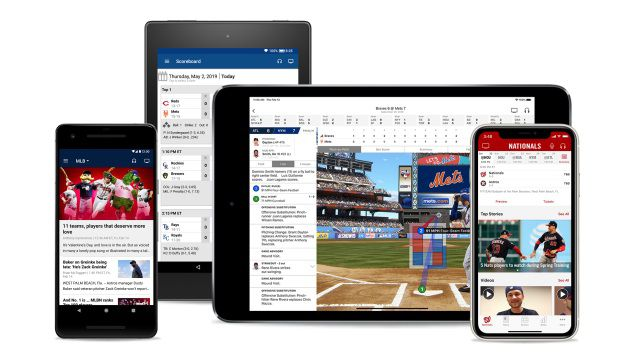 The MLB app is the league's official hub for baseball content