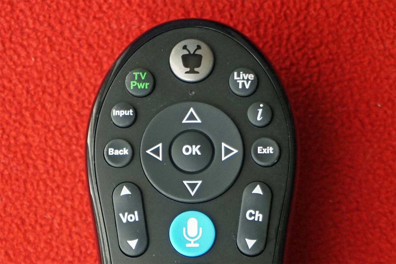 TIVO Remote – Top Portion