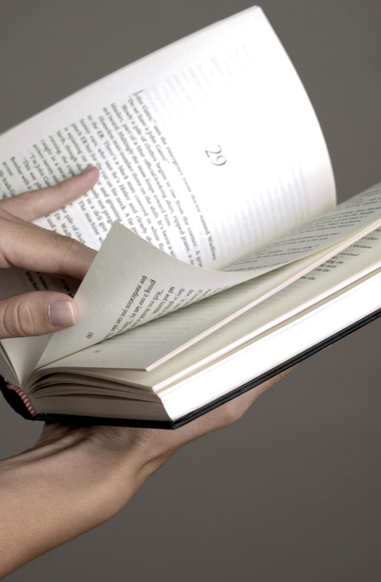Hand flipping book