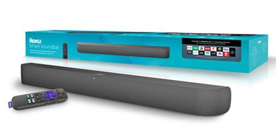 Roku Smart Soundbar with Remote and Packaging