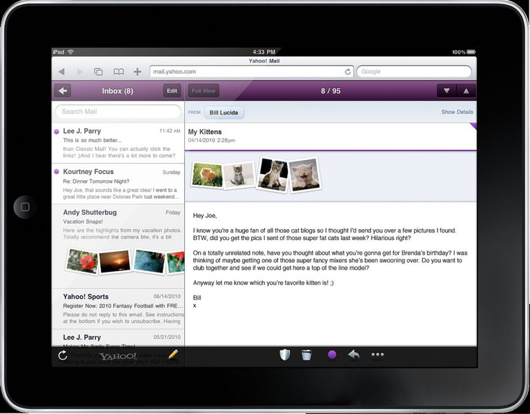 How To Change The Yahoo Mail Interface Color