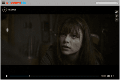 Screenshot of the movie The Divide on Popcornflix