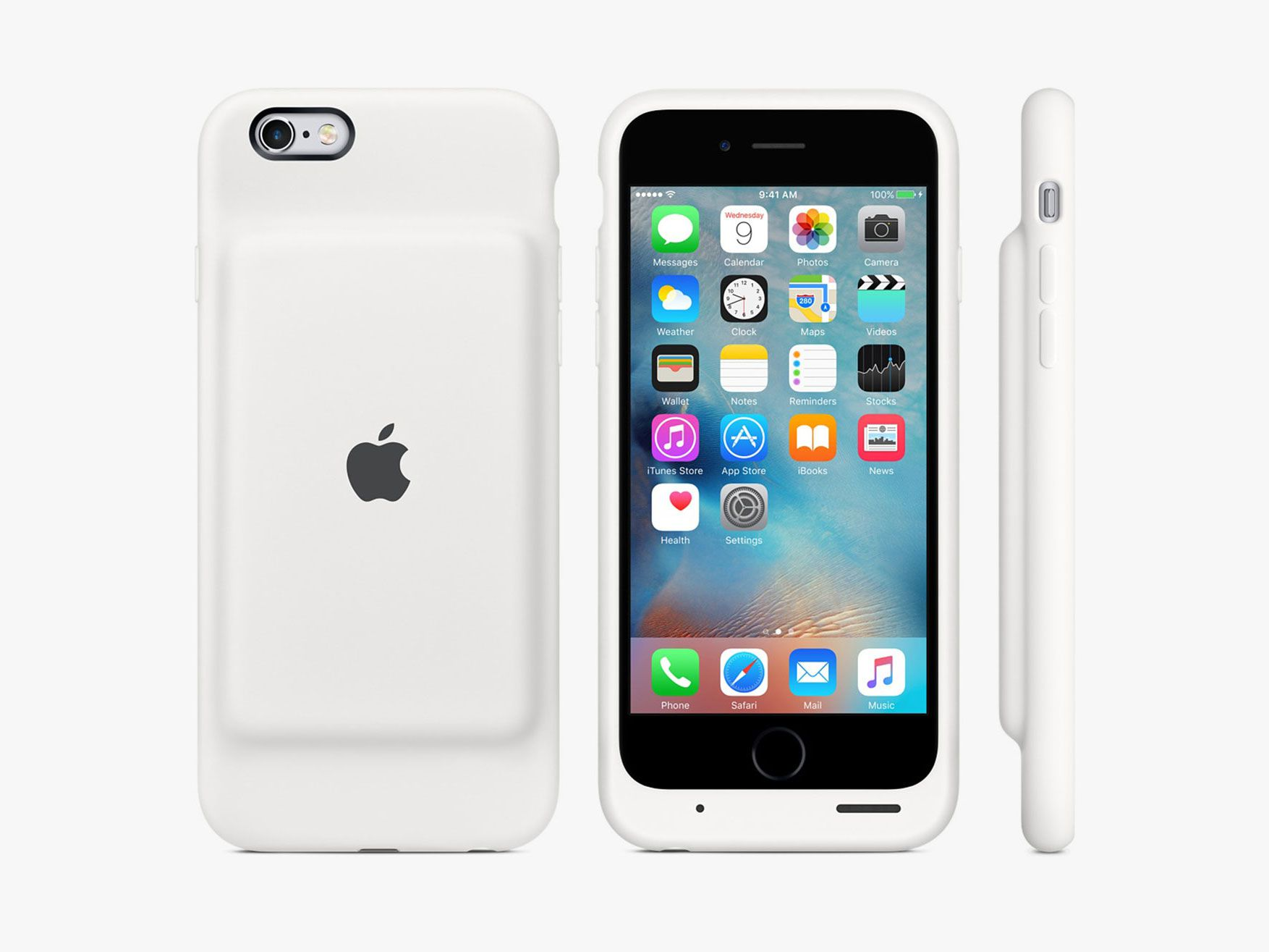 apple releases a 100 battery case for the iphone 6 and 6s. Black Bedroom Furniture Sets. Home Design Ideas