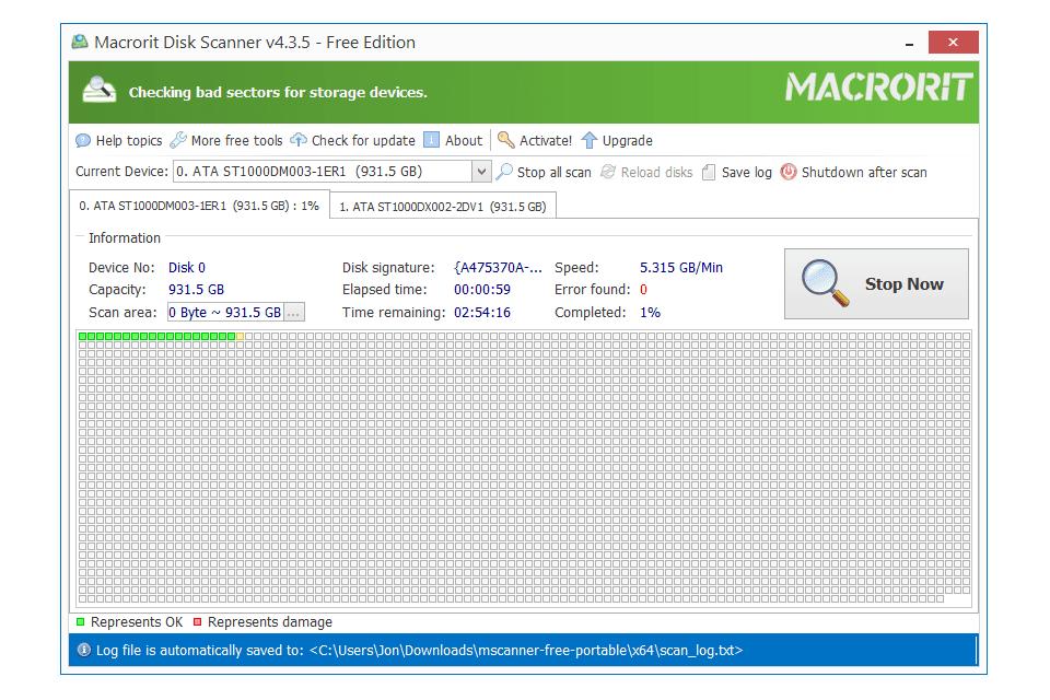Macrorit Disk Scanner v4.3.5