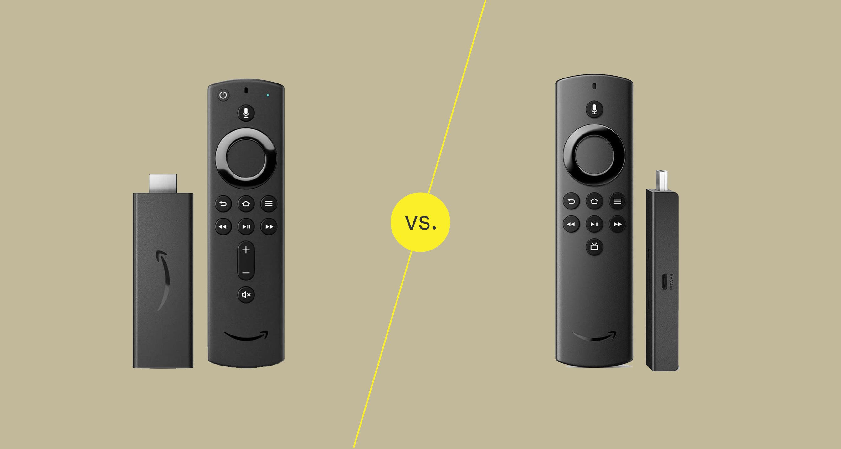 Fire TV Stick vs. Fire TV Stick Lite: What's the Difference?