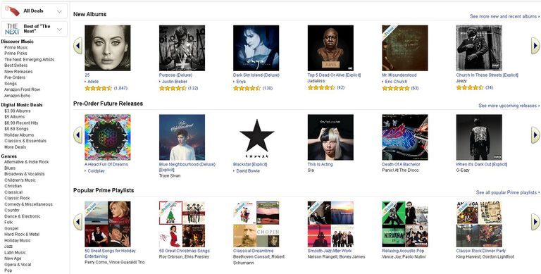 A Review Of The Amazon Music Download Store