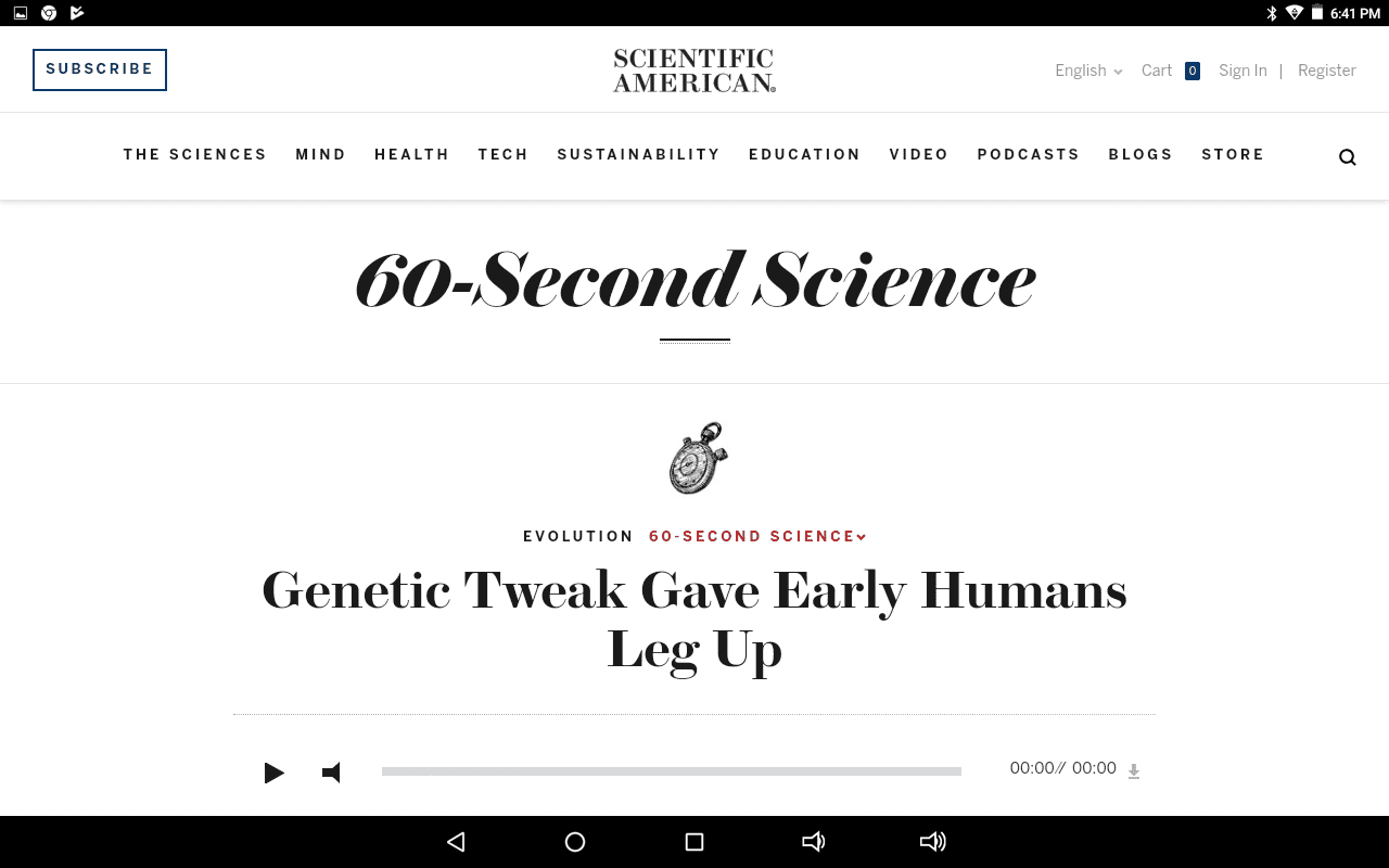 60-Second Science home page