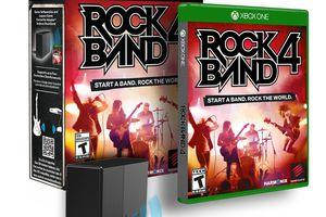 Rock Band 4 box set