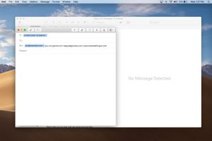 Email for undisclosed recipients in macOS Mail