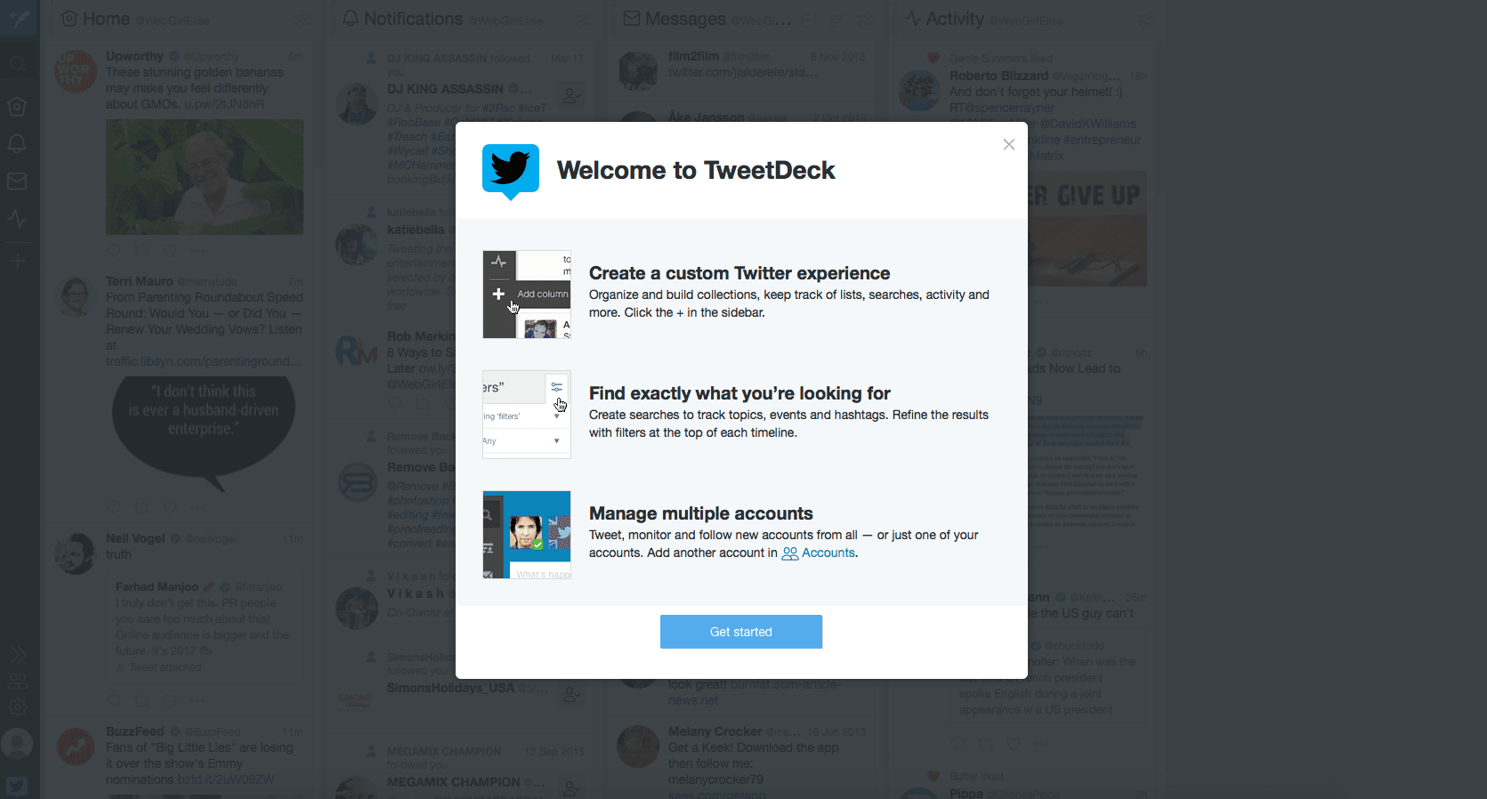 how to schedule tweets on twitter using tweetdeck