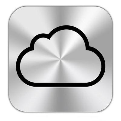iCloud button
