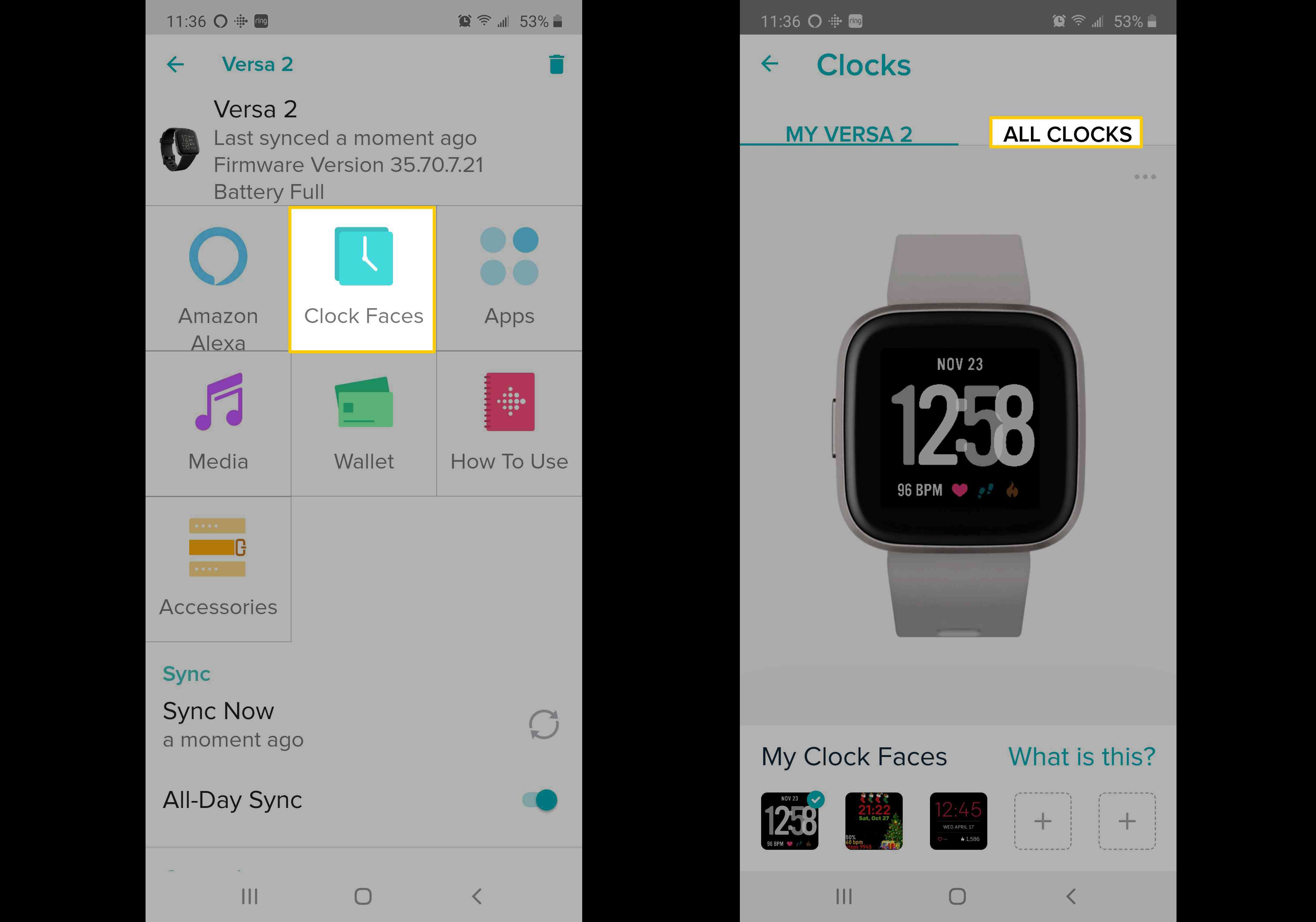 How To Change The Clock Face On A Fitbit Versa Or Versa 2