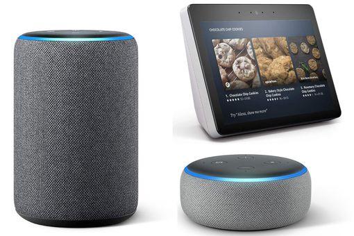 Amazon Echo, Dot, and Show