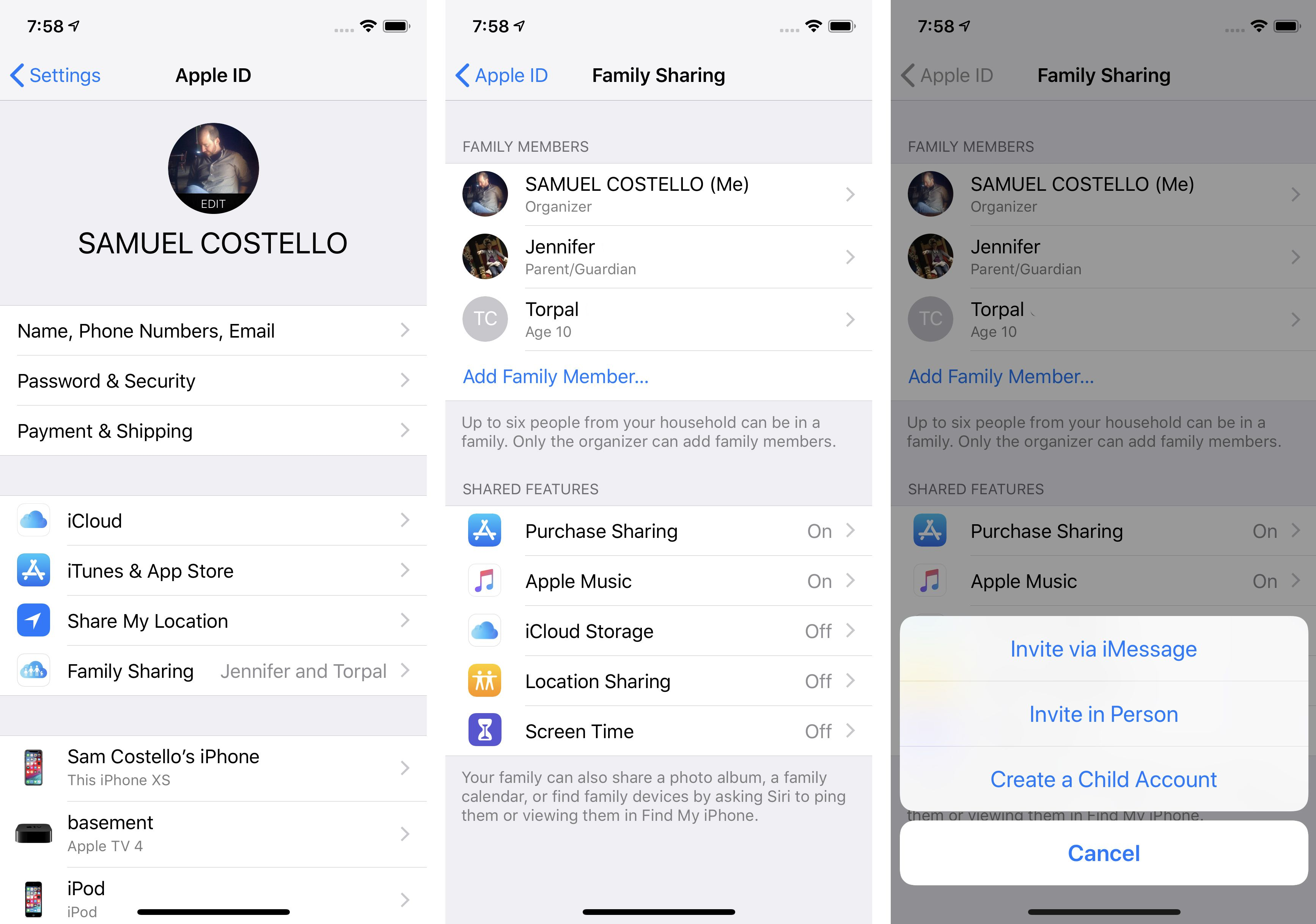 how to create apple id on iphone