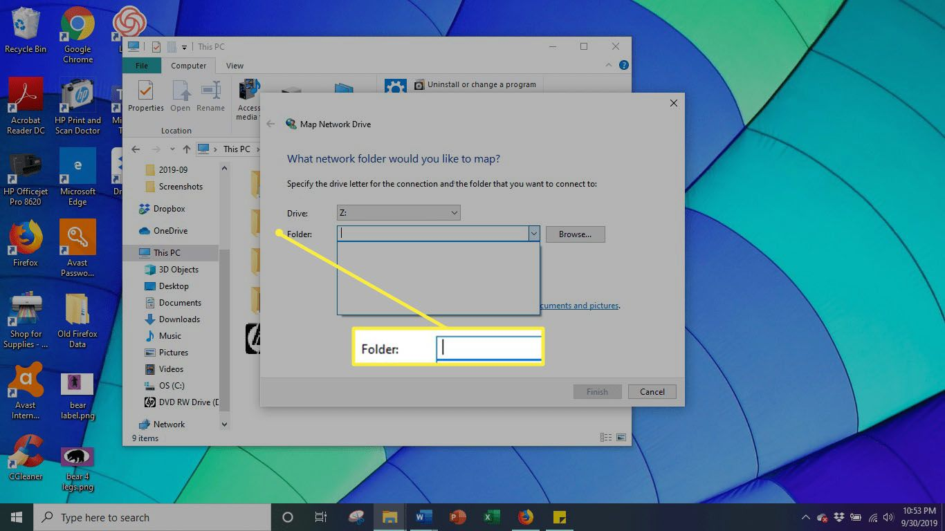 IP Folder