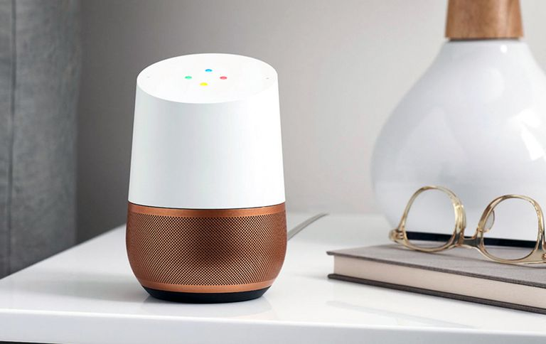 Example of a Google Home device