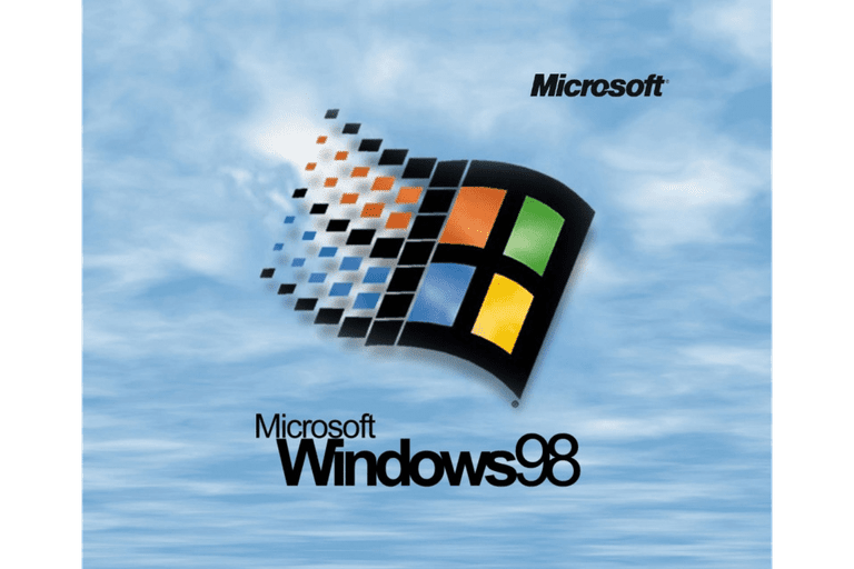 Screenshot of the Windows 98 Startup Screen