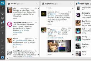 TweetDeck Dashboard screenshot